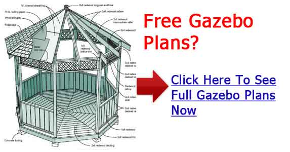 Hot tub gazebo plans diypdfwoodplans for Gazebo house plans